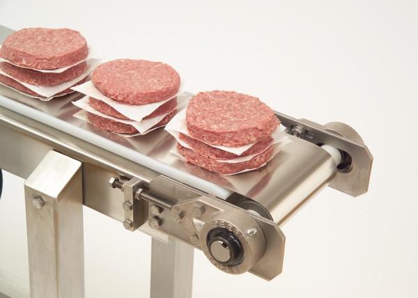 Mantendo a Segurança de Alimentos com Correias Transportadoras em Aço Inoxidável