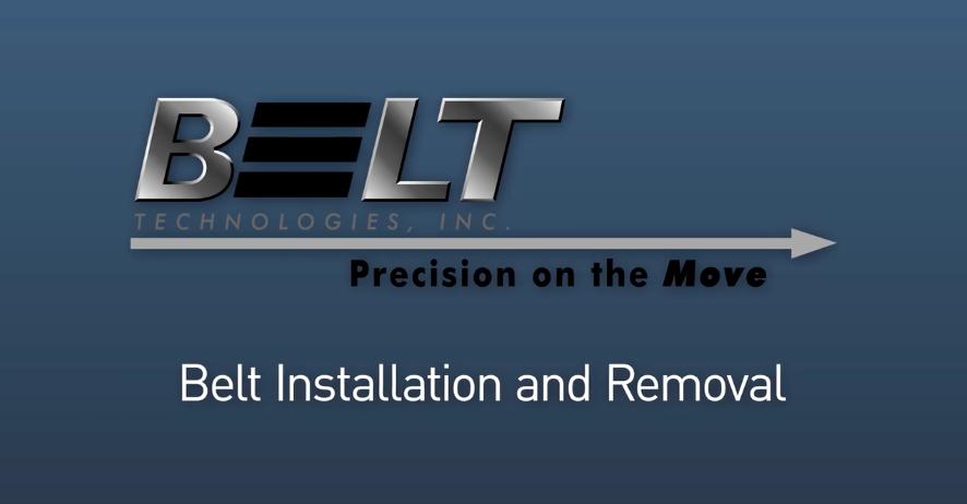 Vídeo Tutorial: Instalação e Remoção da Correia Metálica